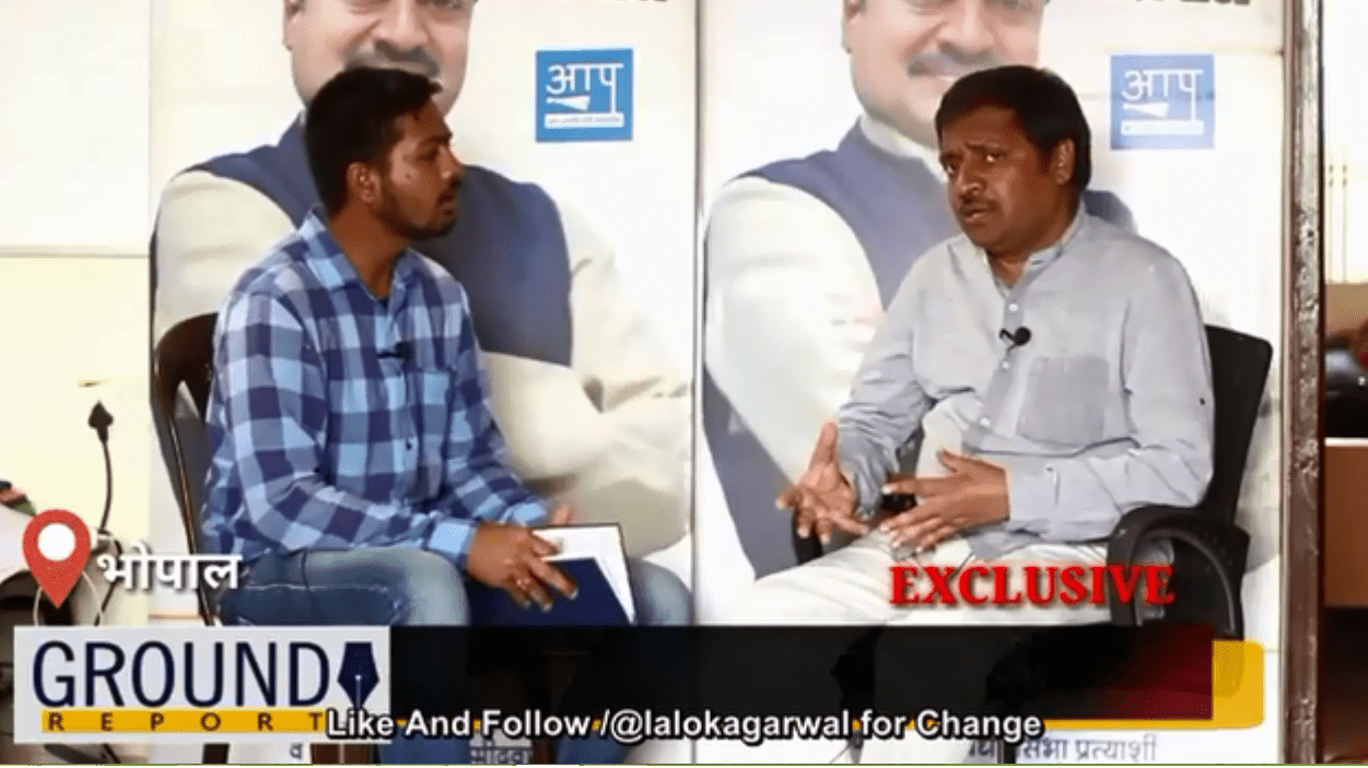 AAP CM Candidate Alok Agarwal's exclusive interview with Ground Report